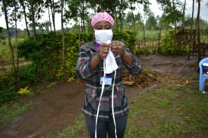 The Water Project:  Cloth Mask Making