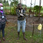 The Water Project: Burachu B Community, Shitende Spring -  Practicing Handwashing
