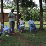 The Water Project: Ataku Community, Ataku Spring -  The Chairperson Addressing The Community Members