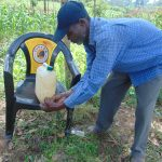 The Water Project: Handidi Community, Chisembe Spring -  Thorough Cleaning Of The Hands Is Essential