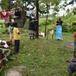 The Water Project: Burachu B Community, Maji Mazuri Spring -  Following Handwashing Steps