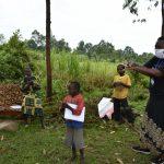 The Water Project: Burachu B Community, Maji Mazuri Spring -  Handwashing Training