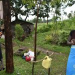 The Water Project: Burachu B Community, Maji Mazuri Spring -  Proper Handwashing Procedure