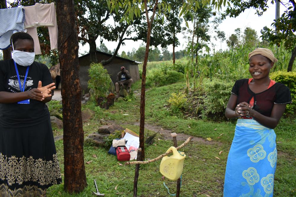 The Water Project : covid19-kenya18132-proper-handwashing-procedure