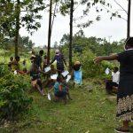 The Water Project: Burachu B Community, Maji Mazuri Spring -  Social Distancing