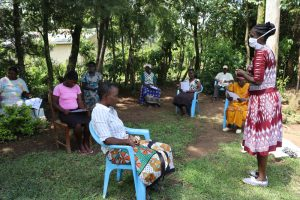 The Water Project:  Mrs Wagaka Leading A Training