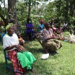 The Water Project: Muyundi Community, Baraza Spring -  The Handwashing Exercise