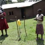 The Water Project: Muyundi Community, Baraza Spring -  Demonstrating The Ten Steps Of Handwashing