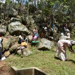 The Water Project: Upper Visiru Community, Wambosani Spring -  Handwashing Practicals