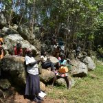 The Water Project: Upper Visiru Community, Wambosani Spring -  Handwashing Session