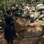 The Water Project: Upper Visiru Community, Wambosani Spring -  Training Session