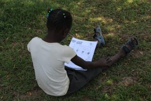 The Water Project:  Following Training Using A Handout