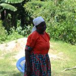 The Water Project: Musango Community, Ndalusia Spring -  Madam Kavasi Reacting At The Training