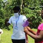 The Water Project: Musango Community, Ndalusia Spring -  Mask Making Practicals