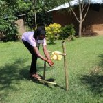 The Water Project: Musango Community, Ndalusia Spring -  Using A Setup Handwashing Point