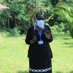 The Water Project: Ilala Community, Arnold Johnny Spring -  Facilitator With Mask On