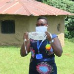 The Water Project: Ilala Community, Arnold Johnny Spring -  Mask Making At The Training