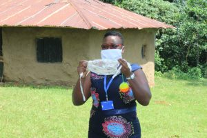 The Water Project:  Mask Making At The Training