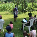 The Water Project: Ilala Community, Arnold Johnny Spring -  Ongoing Covid Sensitization