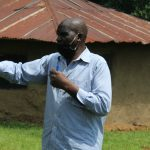 The Water Project: Ilala Community, Arnold Johnny Spring -  Village Elder Reacting To The Training