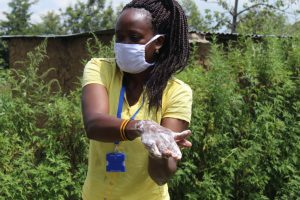 The Water Project:  Clean Hands Keep Virus Away