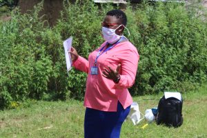The Water Project:  Facilitator Leading The Training