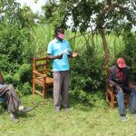 The Water Project: Lukova Community, Wasike Spring -  Reacting To The Training