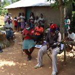 The Water Project: Emulakha Community, Nalianya Spring -  Handwashing Exercise