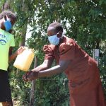 The Water Project: Sambuli Community, Nechesa Spring -  Handwashing