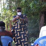 The Water Project: Sambuli Community, Nechesa Spring -  Sewing Of Face Masks Training