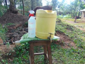 The Water Project:  A Handwashing Station Installed At The Community