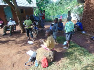 The Water Project:  Participants Attending Training