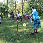 The Water Project: Emukangu Community, Okhaso Spring -  Training On Tippy Tap Use