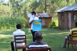 The Water Project:  Use Of Charts At The Training