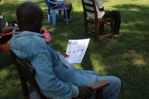 The Water Project:  Using Handouts At The Trainings