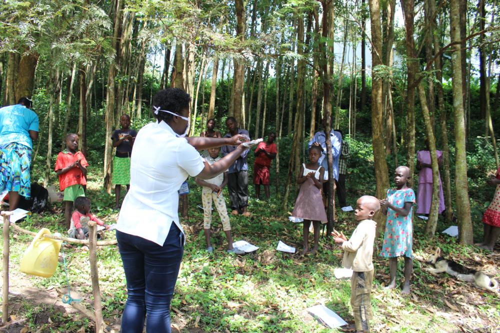 The Water Project : covid19-kenya19120-handwashing-demonstrations-2