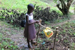 The Water Project:  Setting Up And Using Handwashing Point