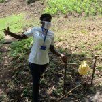 The Water Project: Eshiasuli Community, Eshiasuli Spring -  Setting Up And Using Handwashing Point
