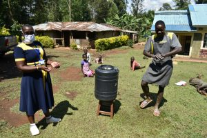 The Water Project:  Following The Handwashing Steps