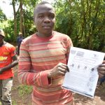 The Water Project: Shamiloli Community, Kwasasala Spring -  Handouts Used At The Training