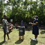 The Water Project: Shamiloli Community, Kwasasala Spring -  Handwashing