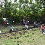 The Water Project: Shamiloli Community, Kwasasala Spring -  Social Distanced Participants
