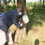 The Water Project: Eshiakhulo Community, Kweyu Spring -  David Kweyu At His Hand Washing Station
