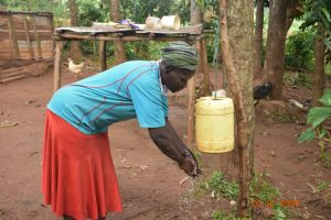 The Water Project:  Catherine Washes Her Hands
