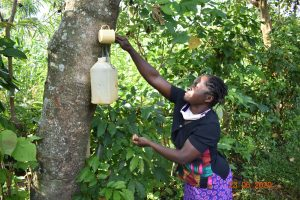 The Water Project:  Serilah Uses Her Handwashing Station