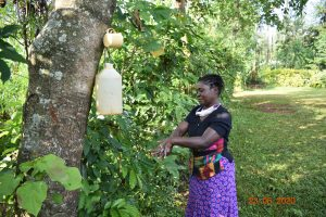The Water Project:  Serilah Washes Her Hands