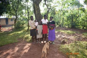 The Water Project:  Serilah With Her Kids