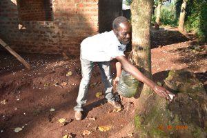 The Water Project:  Simon Mulongo At His Handwashing Station