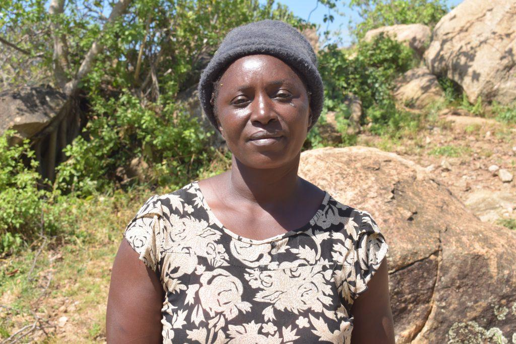 The Water Project : covid19-kenya19186-tabitha-mutheke