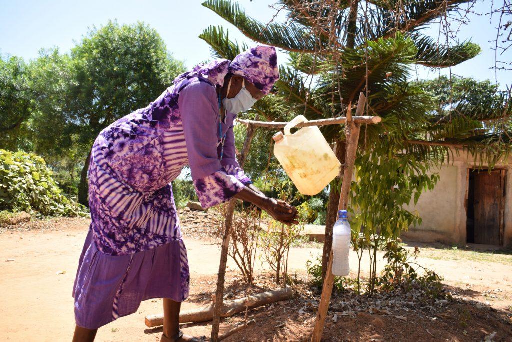 The Water Project : covid19-kenya19217-handwashing-2